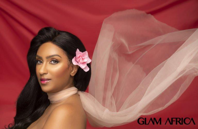 0glam africa magazine release juliet ibrahim shoot for big beauty