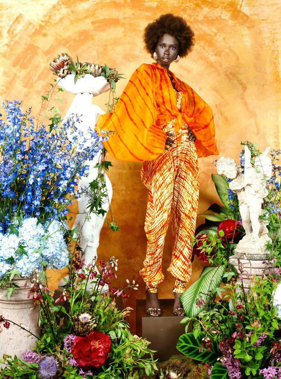 1sai sankoh collection 'portrait of a lady