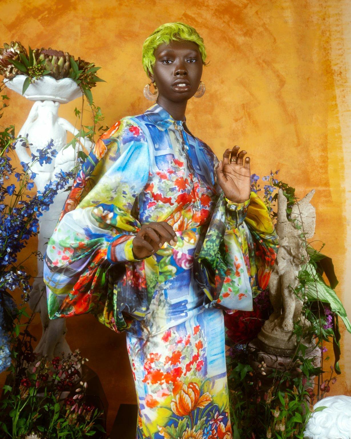2sai sankoh collection 'portrait of a lady