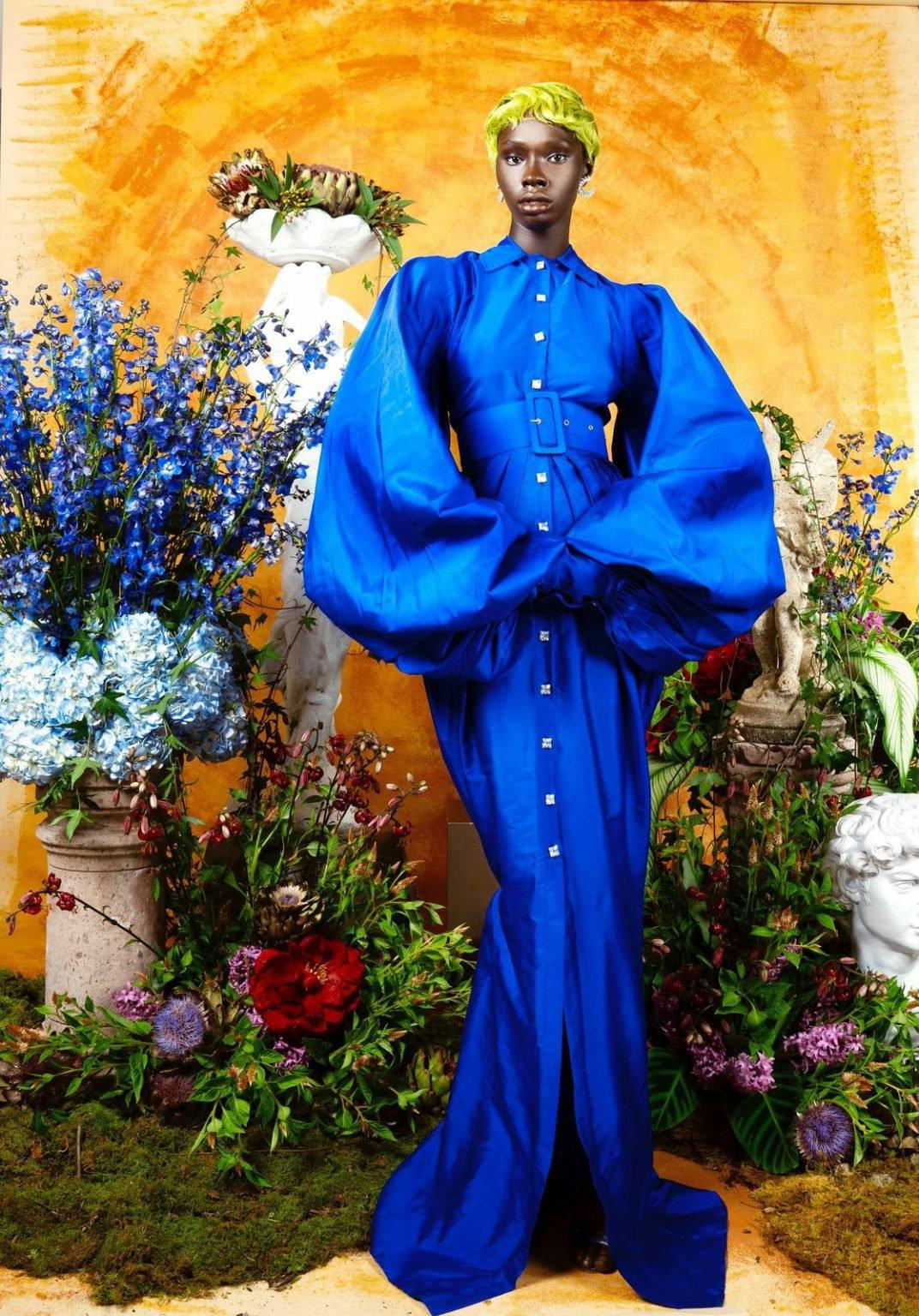 3sai sankoh collection 'portrait of a lady