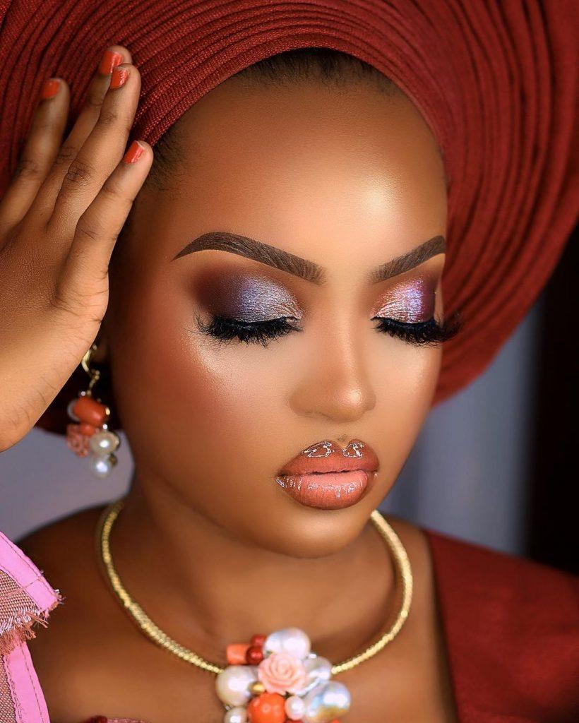 Edens Glam Yoruba Look 1
