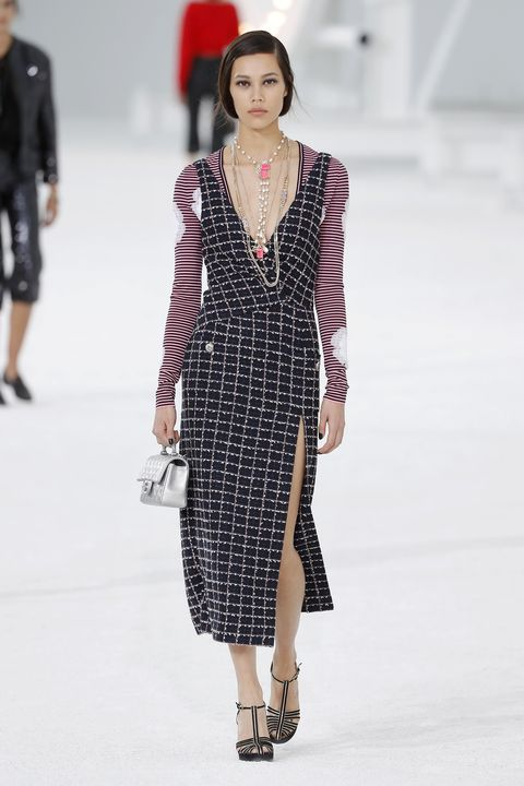 model walks the runway during the chanel fashion show news photo 1601986064