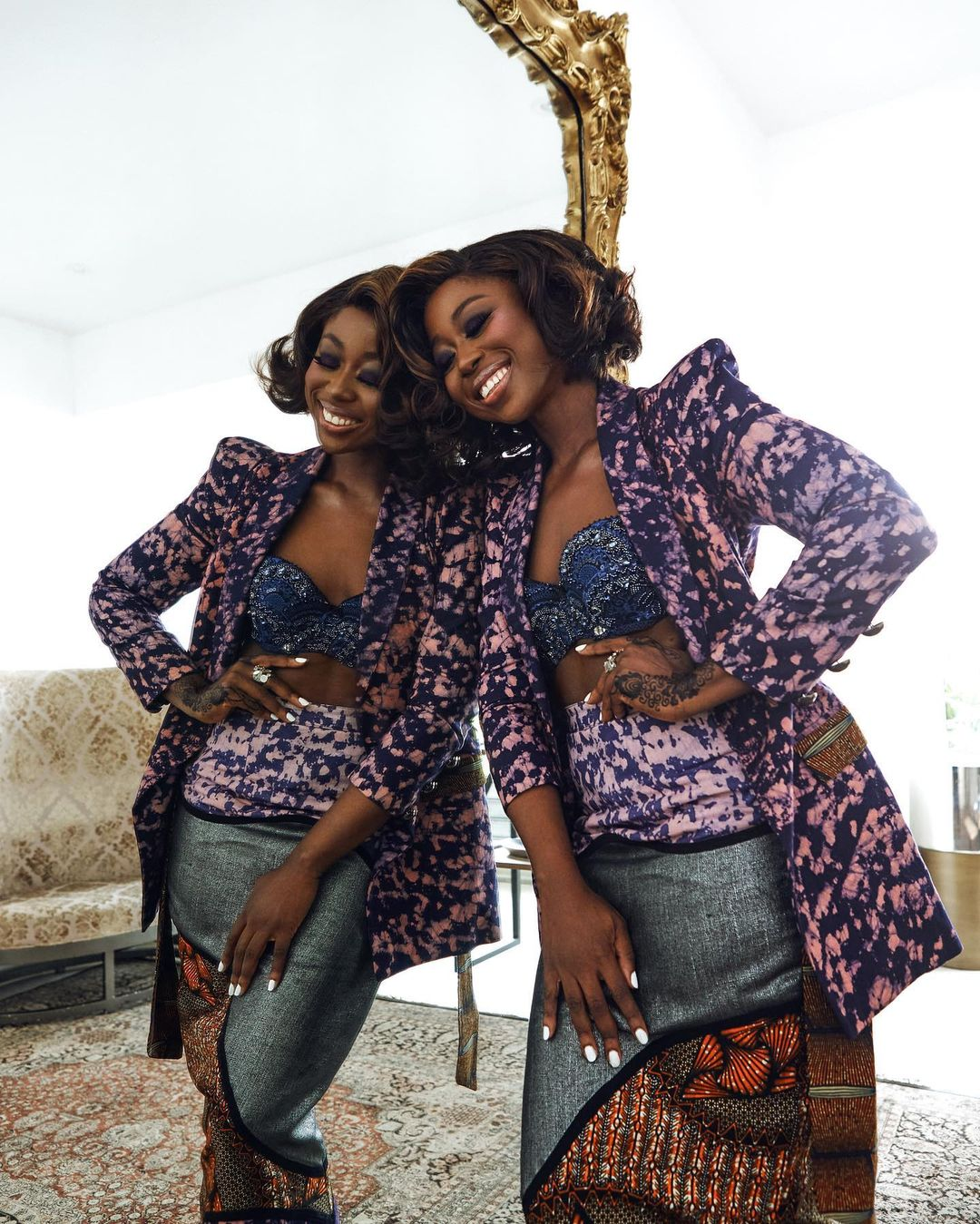 0Sika Osei Started Off 2021 In Two Made In Ghana Outfits That Deserve Your Attention